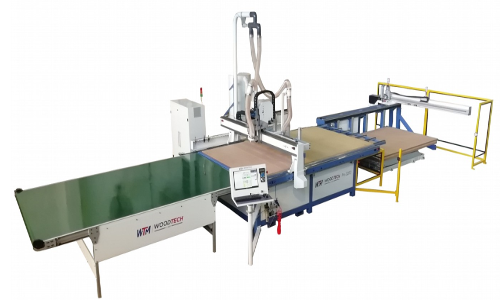 C-Nest Automated CNC Production Line